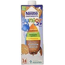 Nestlé Junior Crecimiento 2+ Galleta María - Leche para niños a partir de 2 años