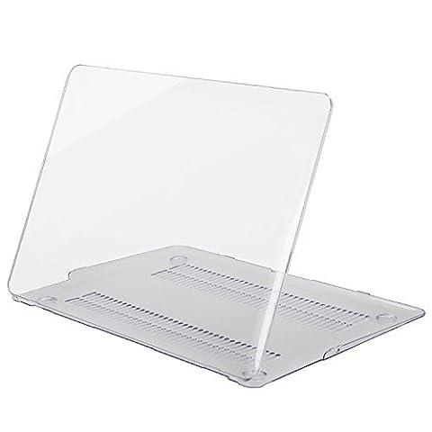 MOSISO Ultra Slim Coque Rigide Housse en plastique Snap pour MacBook Air 11 pouces (Modèles: A1370 et A1465), Cristal