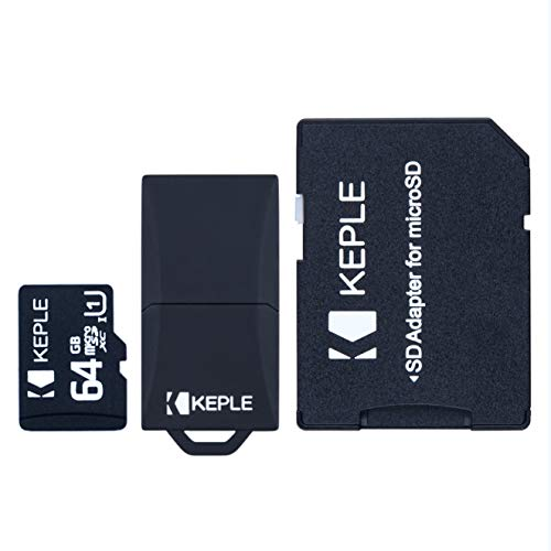 64GB Micro SD Speicherkarte | MicroSD Kompatibel mit Mavic Air, Pro, Pro Platinum, Spark, Phantom 4 Pro, Pro+, Advanced / +, Phantom 3 SE, Professional, Inspire 1, Phantom FC40 Drone Drones | 64 GB