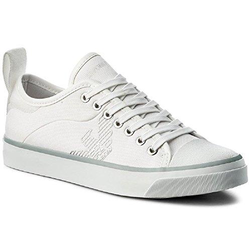 Emporio Armani Logo Pump Damen Sneaker White