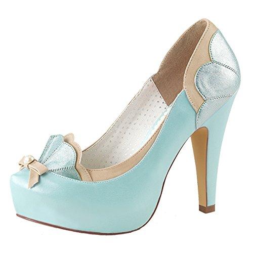 Heels-Perfect - alto Donna blu (blu)