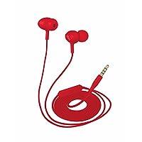 Trust Urban Ziva Kulak Içi Kulaklık, Kırmızı