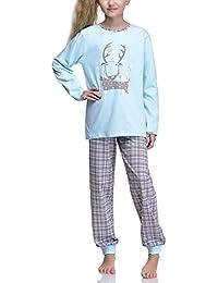 Timone Pijama Conjunto Camisetas y Pantalones Vestidos de Cama Niña 850