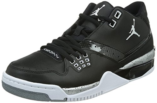 Black Silver Herren 23 Schwarz Metallic White Flight Nike Jordan Basketballschuhe 011 zawpgYt