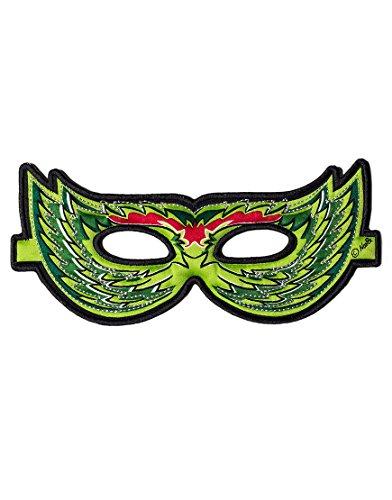 Dreamy Dress-Ups 50771grün Vogel Maske (One Size)