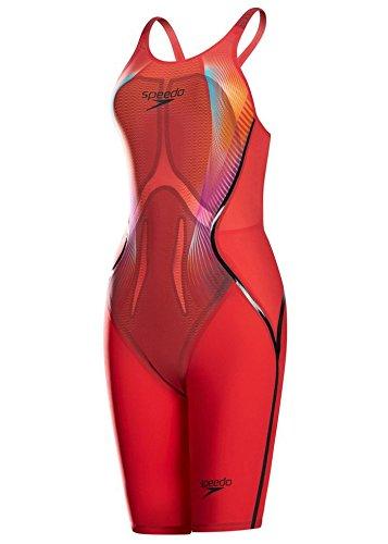 Speedo Womens Fastskin LZR RACER X OPBK KSKN AF RED 68-09752B454-20 (X Racer Kostüme)