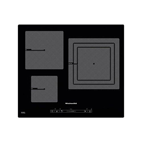 KitchenAid khid365510Plaque–Plaque (intégré, induction, Verre et Céramique, noir, bâton de déplacement, toucher,...