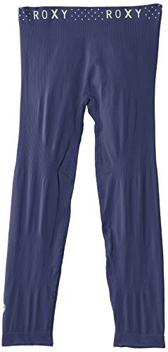 Roxy Damen Thermounterwäsche Unterhose Seamless Leg Peacoat
