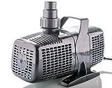 Filterpumpe bis 8000l/h PONTEK Filter- und Bachlaufpumpe Eco 8000 Liter