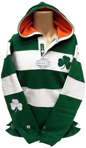 Donegal Bay Ireland Rugby Shirt Hoodie, Jungen Damen, X-Large - Fußball-rugby-shirt