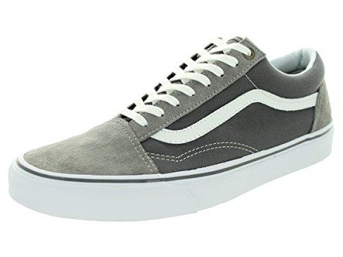 Vans Herren Old Skool Plateau Frost Gray/Pewter
