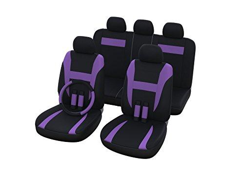 Auto Universal Sitzbezug Set in Lila / Sitzbezüge / Sitzschoner / Schonbezüge