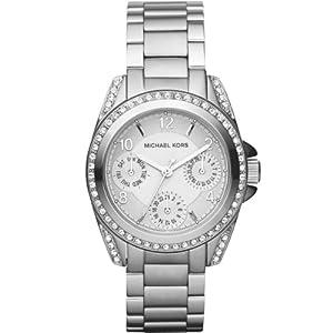 MICHAEL KORS MK5612 - Reloj analógico de cuarzo para mujer con correa de acero inoxidable, color plateado de Michael Kors