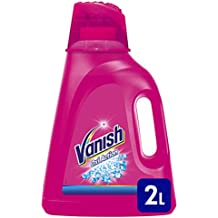 Vanish Oxi Action Gel Rosa, Smacchiatore per Capi Colorati, 2000 ml