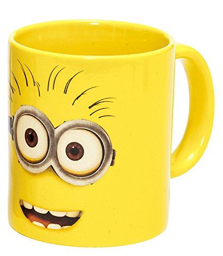 Joy Toy 90283 Minions Keramiktasse 320 ml in Geschenkpackung, 12 x 9 x 10 cm, gelb