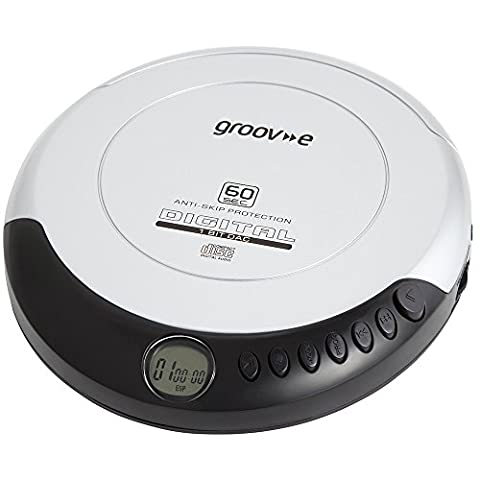 Groove Personal CD Player - Silver