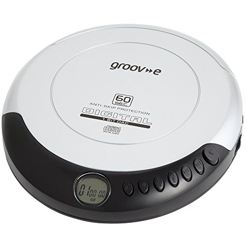 Groov-e Retro Series Personal CD Player - Silver