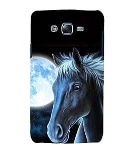 printtech Nature Animal Horse Back Case Cover for Samsung Galaxy E7 / Samsung Galaxy E7 E700F