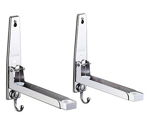 COLLECTOR In acciaio inox forno a microonde staffa a parete cucina contenente microonde acciaio inossidabile rack , E