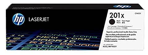 HP 201X Toner Noir Grande Capacité Authentique (CF400X)