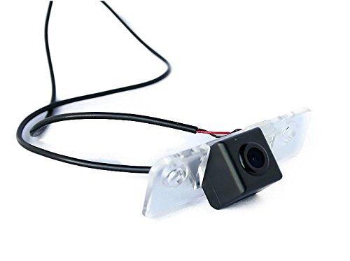 Lampe dynavin Caméra de recul Plaque d'immatriculation pour Skoda Octavia à partir de 2015 FABIA II à partir de 2007 Octavia II 2004–2013 ROOMSTER Superb II (3T) 2008–2014 Superb II à partir de 2008