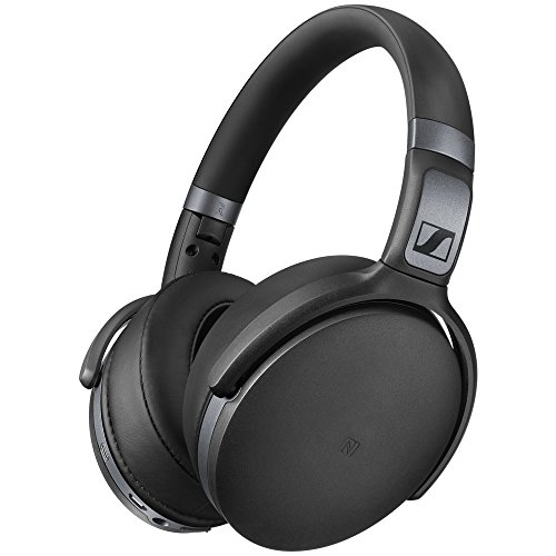 Sennheiser hd 4.40 cuffia wireless, microfonica con bluetooth, nero opaco