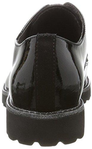 Black Noir Femme Tamaris 23206 Richelieus pqARRX