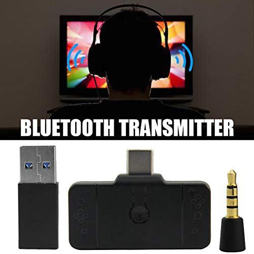 Sunflowerany PS4 / Switch/PC Universal-Bluetooth-Headset-Adapter Adapter-Konverter/Empfänger-Switch Bluetooth (Headset-bluetooth-konverter)