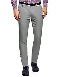 oodji Ultra Homme Pantalon Chino Basique