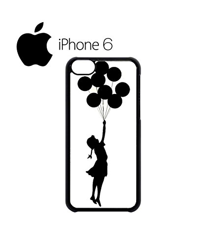 Banksy Balloon Girl Cool Swag Mobile Phone Case Back Cover for iPhone 6 Black Noir