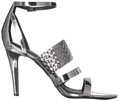 Calvin Klein Mayra Synthétique Sandales Metallic Steel