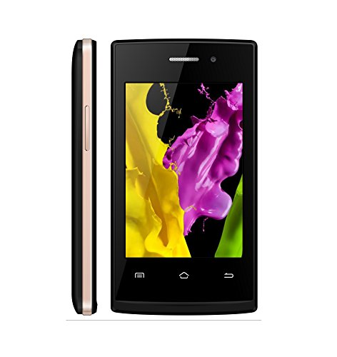 YOOCALL F8 3G Smartphone With 3.5 Inch Screen (Black+Gold)