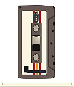PrintVisa Designer Back Case Cover for Oppo Find 7 :: Oppo Find 7 QHD :: Oppo Find 7a :: Oppo Find 7 FullHD :: Oppo Find 7 FHD (Audio Cassette)