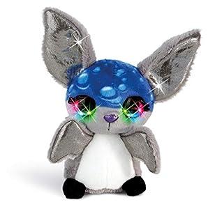NICI 42470 doos flashies Peluche Murciélago pipp con LED de Ojos