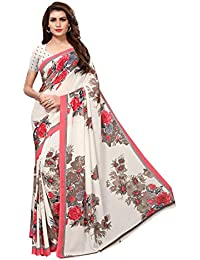Art Decor Sarees Georgette Saree with Blouse Piece