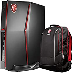 MSI Vortex G25-023US (i5-8400, 16GB RAM, 256GB SATA SSD + 1TB HDD, NVIDIA GTX 1060 6GB, Windows 10 Pro) VR-Ready Compact Gaming Desktop