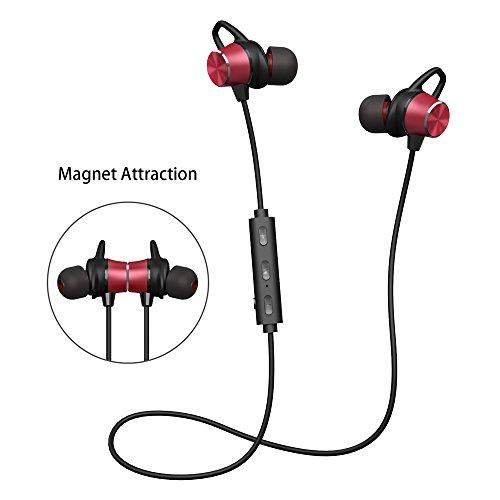 Bluetooth Kopfhörer V4.1 Stereo Sport Kopfhörer In Ear Wireless Ohrhörer Magnetische Headset 8 Stunden Spielzeit für iPhone Samsung Huawei und andere Android-Smartphones Bluetooth Stereo Headset Kopfhörer