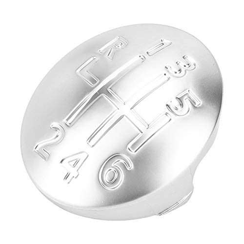 Duokon Gear Knob Cap Cover Car Manual Coperchio pomello pomello cambio 6 velocità per CLIO SCENIC MEGANE II