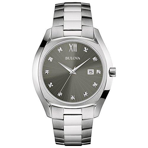 Bulova 96D122 Armbanduhr - - Herren Grau Bulova Uhr