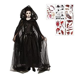 Disfraz de Bruja Negra Fantasma