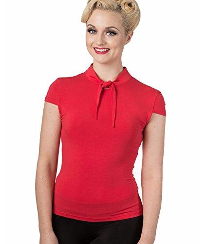 Banned - Camicia -  donna rosso Small
