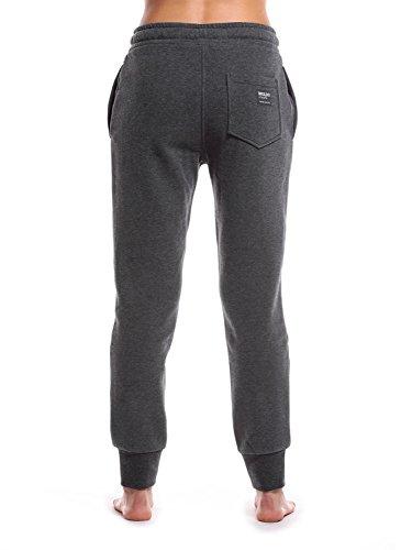 WOLDO Athletic - Pantalon de sport - Femme Emery / dunkelgrau/weiß