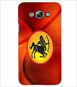 PrintDhaba Zodiac Sagittarus D-3376 Back Case Cover for SAMSUNG GALAXY A8 (Multi-Coloured)