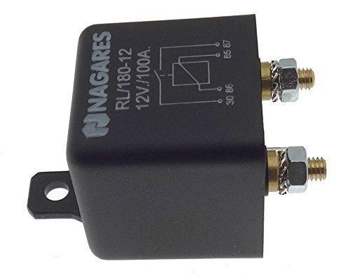 KFZ Lastrelais Nagares Relais 12V 180 Amp Trennrelais Batterie Auto PKW Schalter -