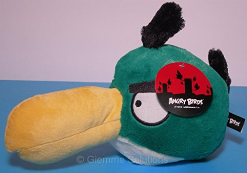 Böse Vögel Grün Toucan Erweisen Sie sich als Bumerang 8 Zoll Stofftiere
