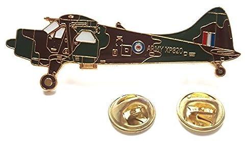Beaver Avion Latéral Vue Royale Air Force Militaire Insigne De Goupille De Revers