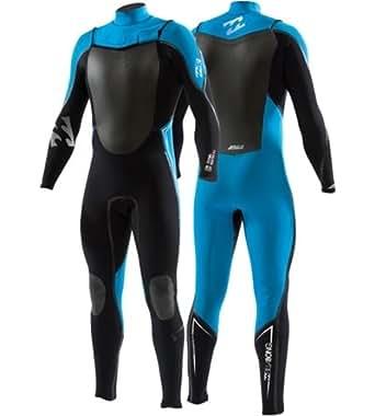Billabong Solution Gold 3/2 LS GBS Billabong Wetsuit - Black & Blue (XL)