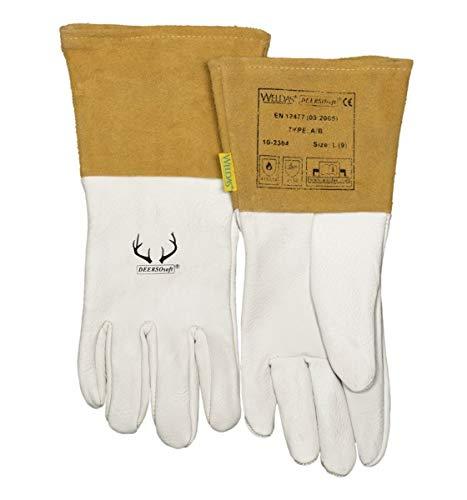 Split Rindleder Handschuhe (Weldas Wig Handschuh DEERSOsoft 10-2304 Gr. XXL 10-2304 XXL)