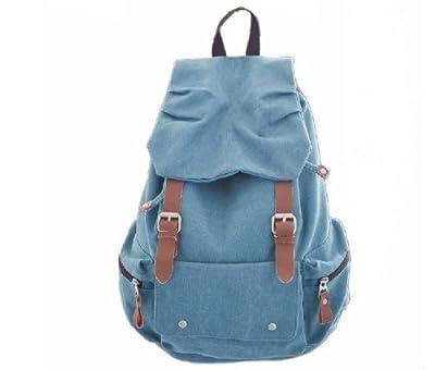 iDream - 2013 nouveau sac à dos sac en toile d'épaule pour école hiking camping randonnée voyage etc. - 32cm * 18cm * 47cm