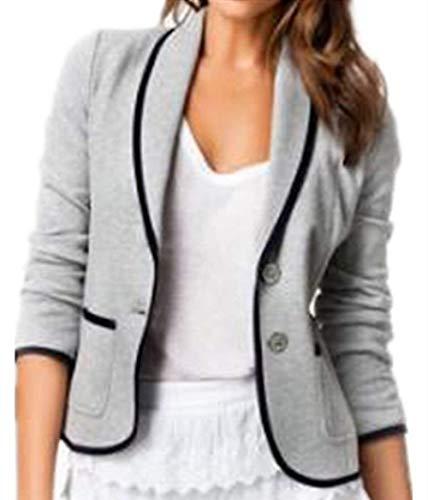 Betrothales corto blazer primaverile tempo autunno sudore ufficio donne business tailleur libero giorno giacca da semplicemente button maniche lunghe camicia outerwear taglie forti cerimonia elegante